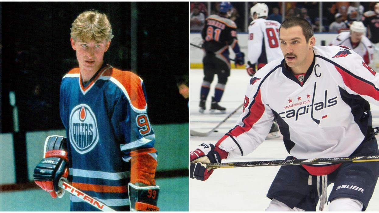 Gretzky & Ovechkin Are Facing Off In A NHL 20 Battle Next Week & You Can Watch It Live