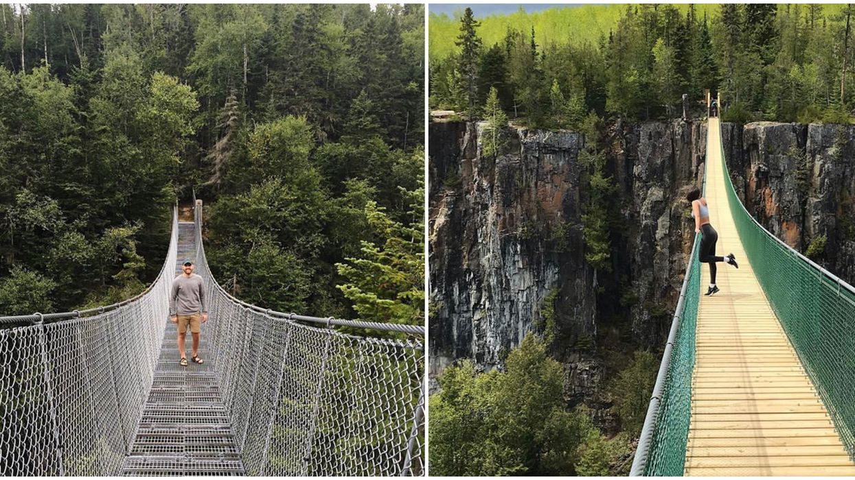 Ontario Suspension Bridges That Will Take Your Hikes To New Heights