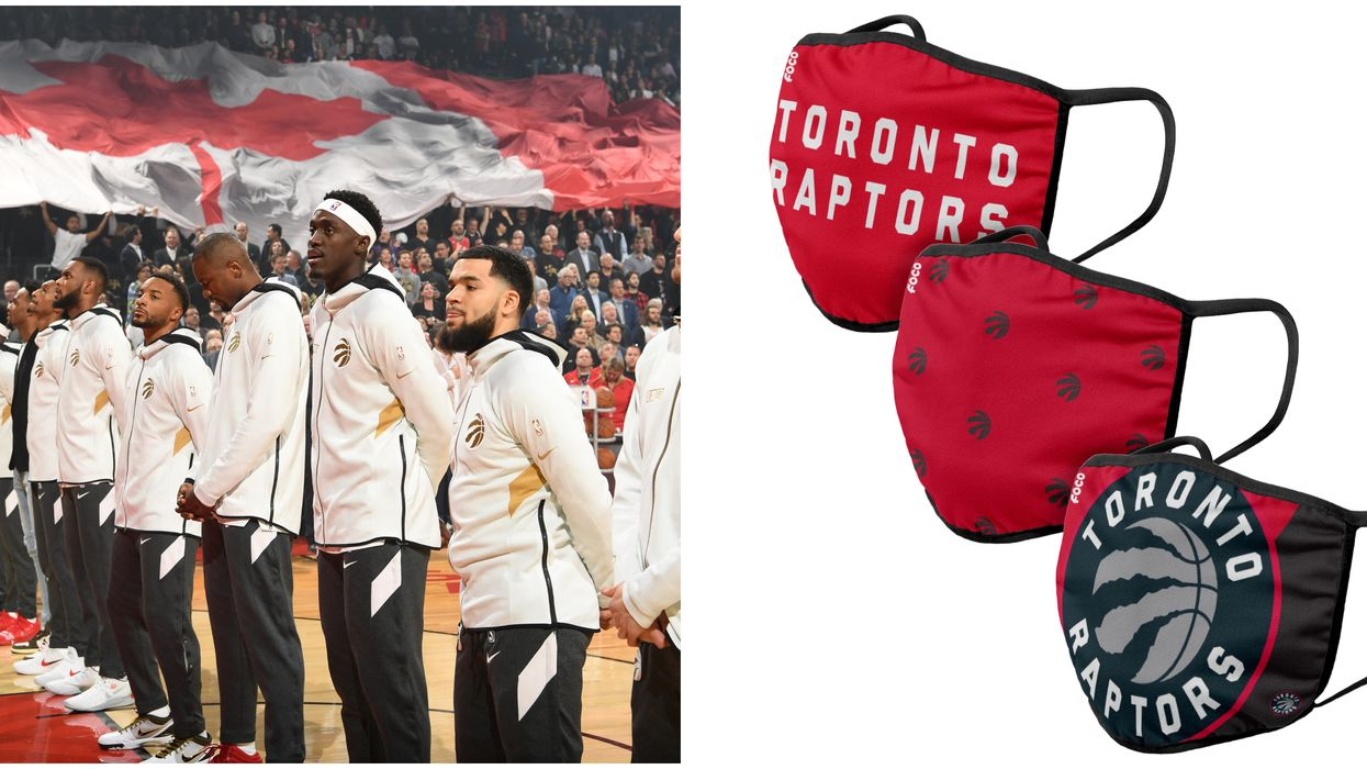 NBA Face Masks Are Here & You Can Get Yourself A Raptors One