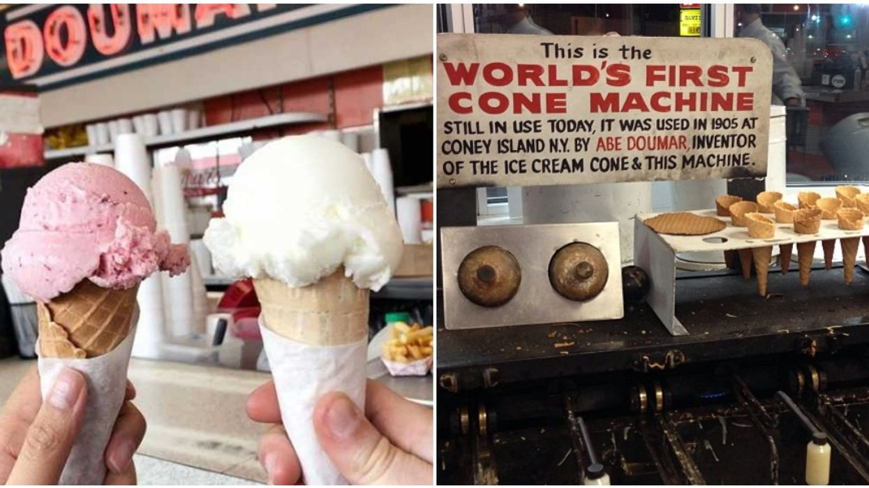You Can Get Ice Cream From The World's First Waffle Cone Machine At This Virginia Diner