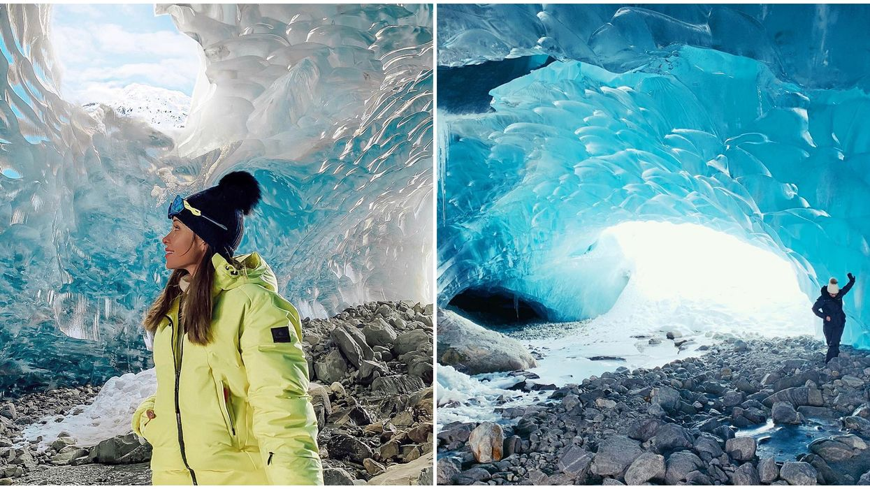 Ice Caves In Whistler Are A Wild Adventure You'll Never Forget