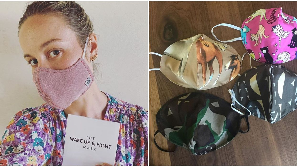You Can Buy Fask Masks Online From California Retailers That Give Back