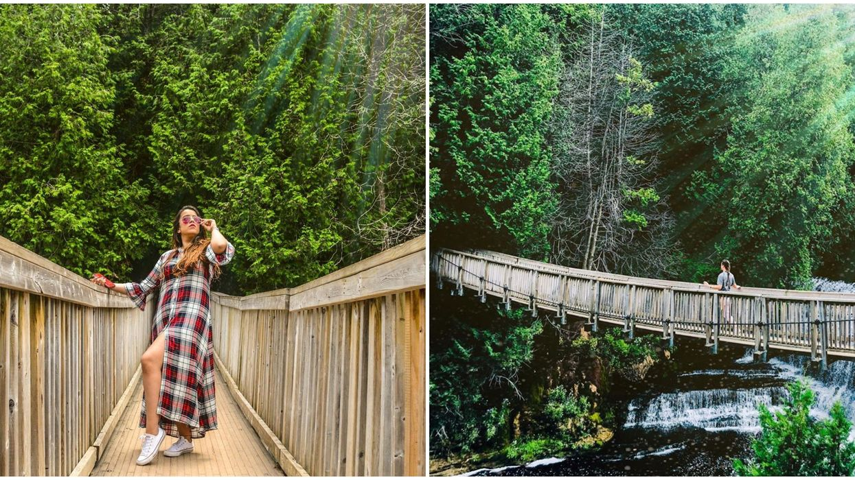Belfountain Conservation Area Has A Magical Hidden Bridge And Gorgeous Waterfalls