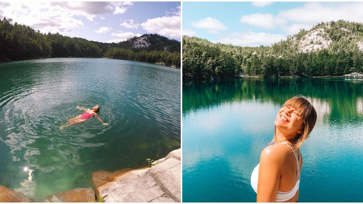 Topaz Lake Swimming Hole Is The Perfect Turquoise Summer Paradise
