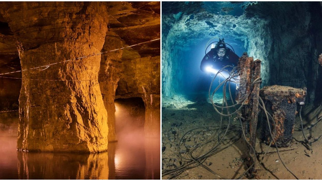 An Underwater Mine In Missouri Lets You Go Scuba Diving