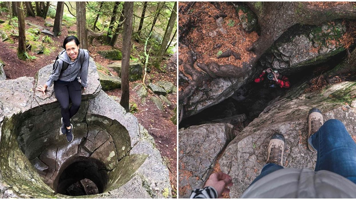 Ontario's Warsaw Caves Have Spiral Caverns You Can Explore