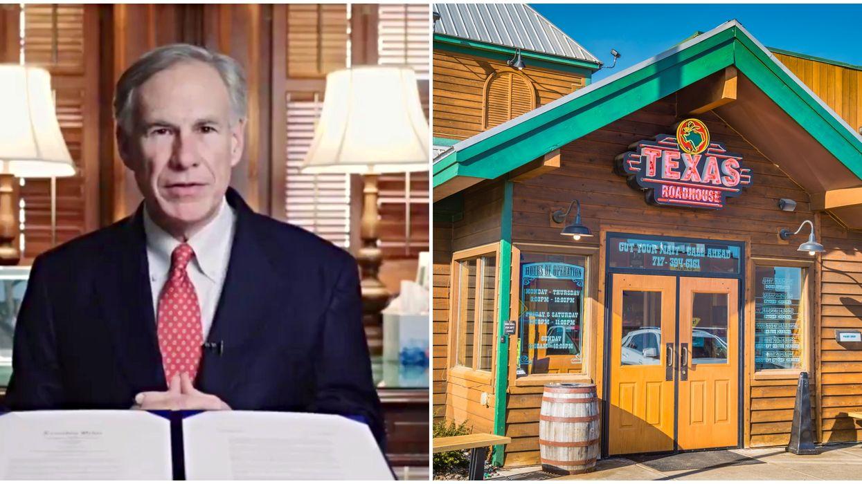 Greg Abbott Reopening Texas Plan Could Get Restaurants Open In 2 Weeks