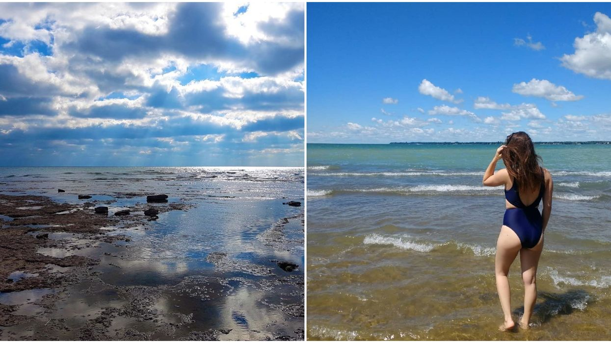 Rock Point Provincial Park Is Home To An Ancient Coral Reef That You Simply Need To See