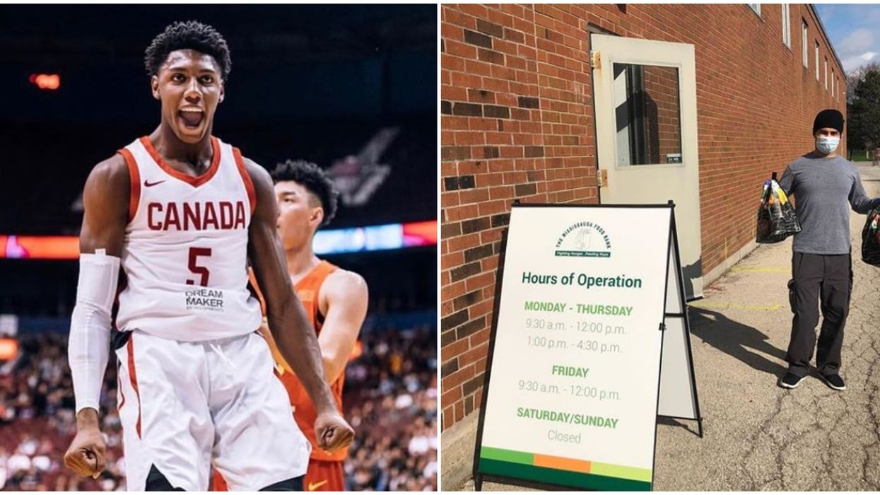RJ Barrett Repays His Home City Of Mississauga With Huge Food Bank Donation