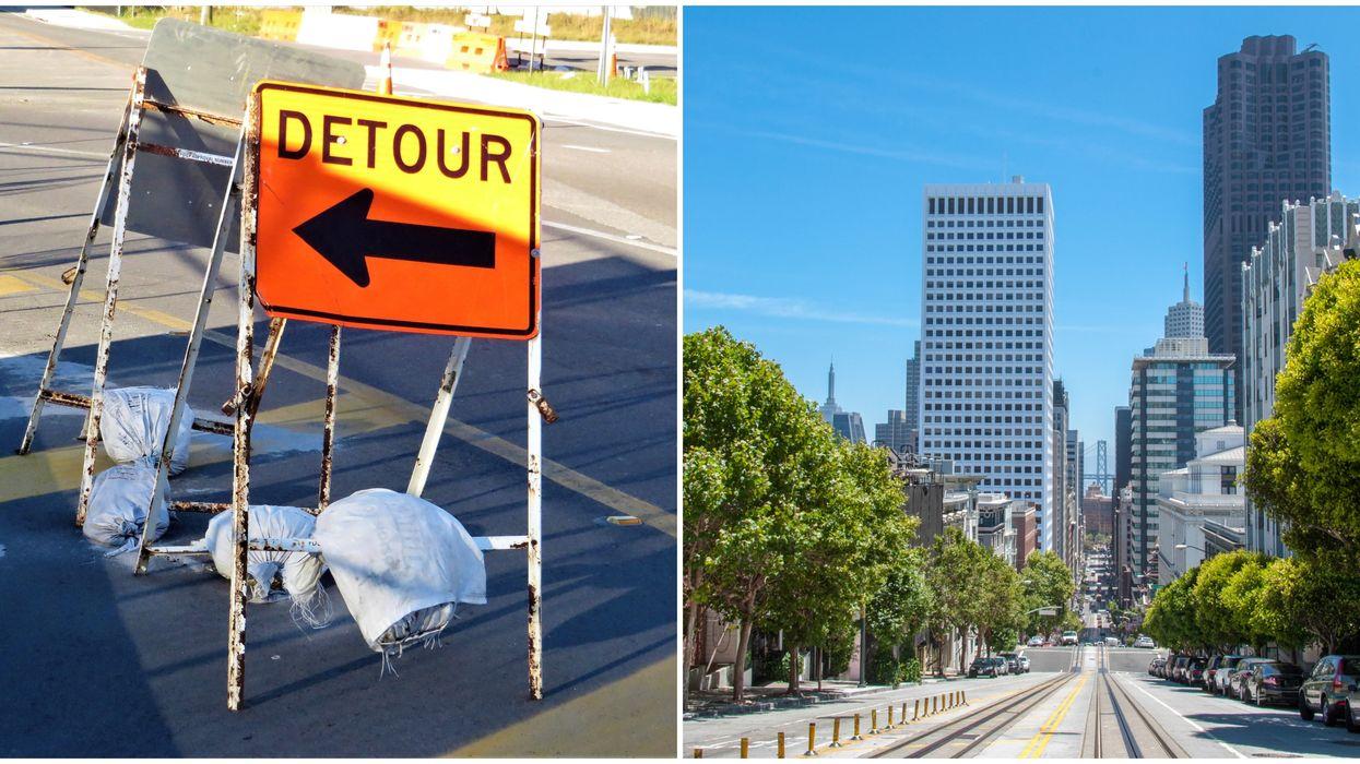 San Francisco's Slow Streets Program Shuts Down Major Roads To Enforce Social Distancing