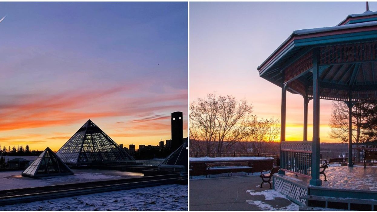7 Edmonton Lookout Points To Catch The Most Stunning Sunsets This Spring