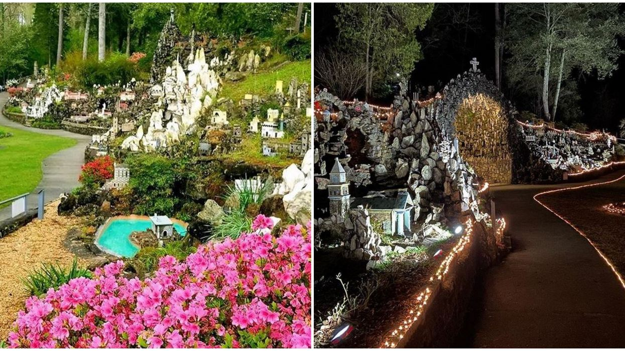 Places To Explore In Alabama Ave Maria Grotto's Mini Stone City Feels Fit For Faeries