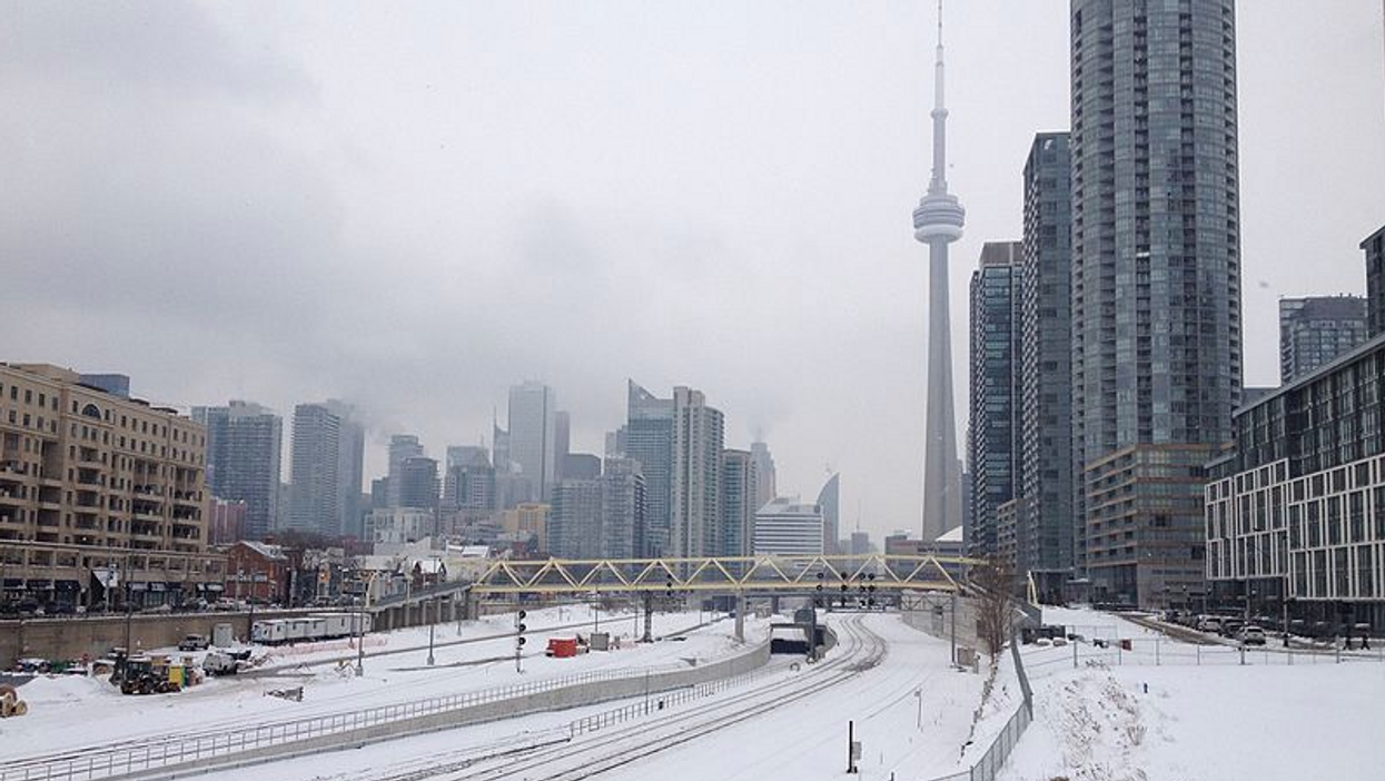 Toronto's April Weather Is On Track To Being One Of The Coldest In History