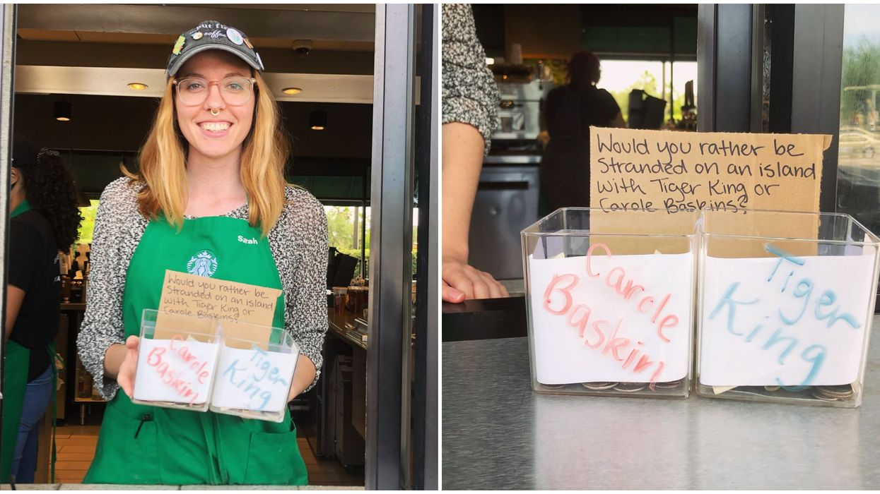 Orlando Starbucks Tiger King Poll: Who Would You Rather Be Stranded On An Island With