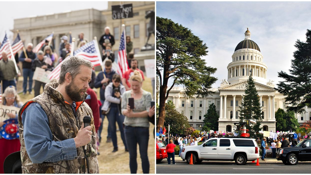 California Highway Patrol Just Banned Protests At The State Capitol (VIDEO)