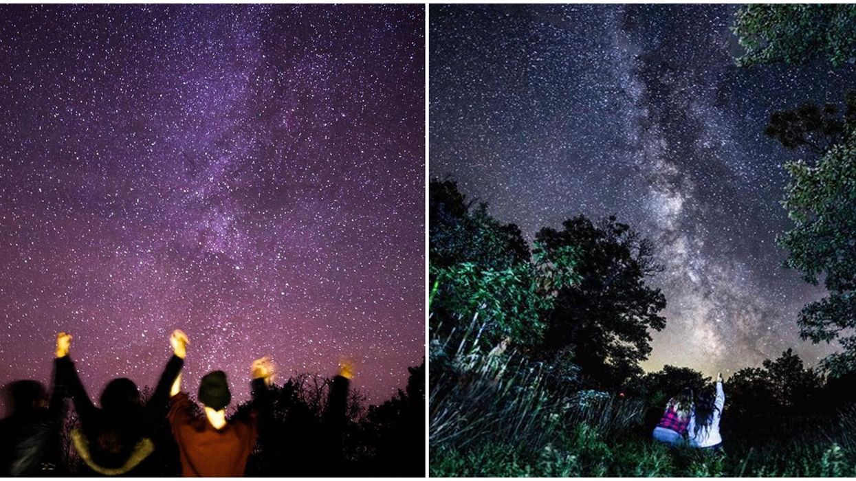 Ontario's Torrance Barrens Preserve Is The Most Magical Spot To Stargaze