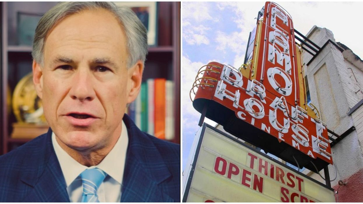 Texas Governor Announces Salons, Stores & Movie Theaters Will Be Opening Back Up Soon