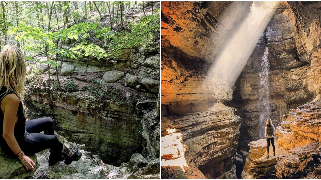 Things To Do In Alabama Hiking Stephen's Gap Cave Will Unearth Your Inner Laura Croft