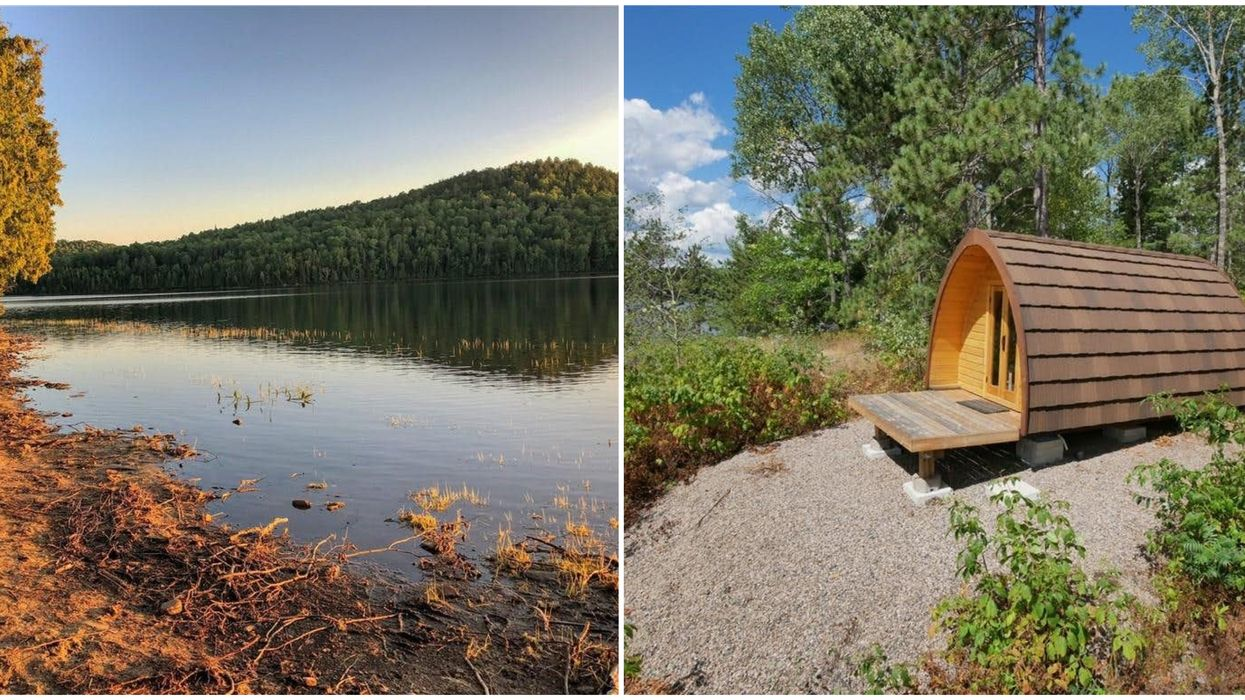 Ontario's Lakeside Pod For Sale Is Perched On The Edge Of A Private Lakeside Oasis