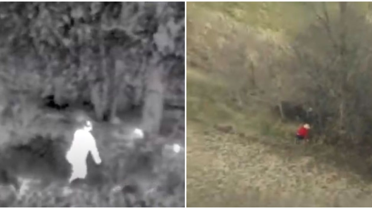 York Regional Police Shares Footage Of Dramatic Helicopter Rescue Of Missing Pensioner
