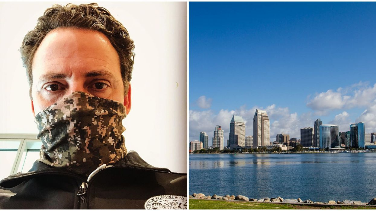 San Diego's Face Covering Order Starts May 1 & Violators Get A $1,000 Fine