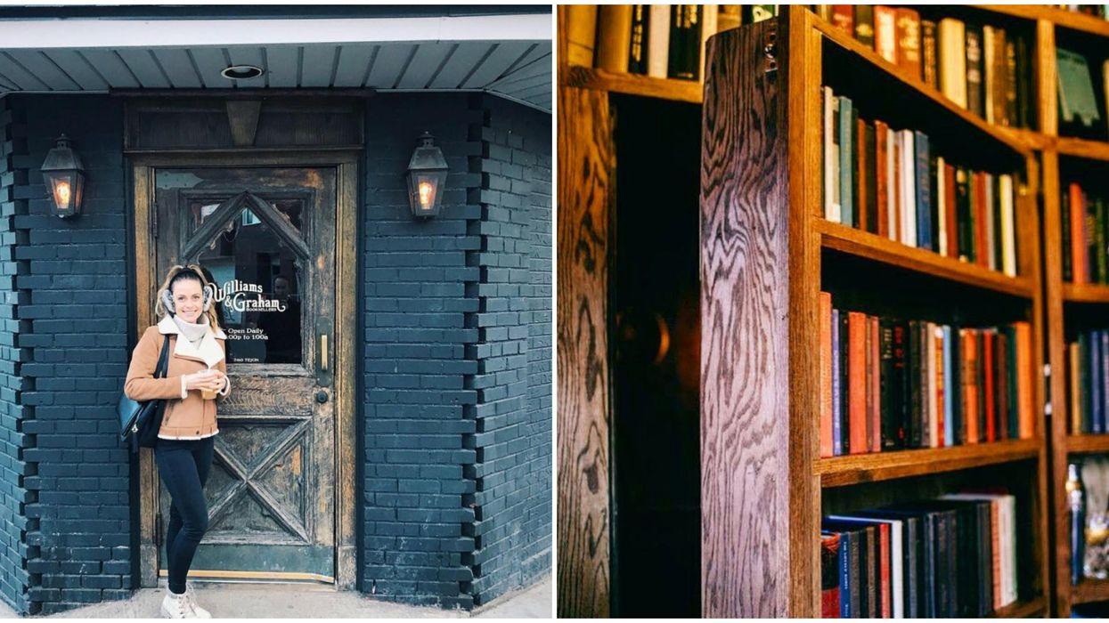 Williams & Graham Bookstore In Denver Is A Secret Speakeasy Hidden Behind A Bookshelf