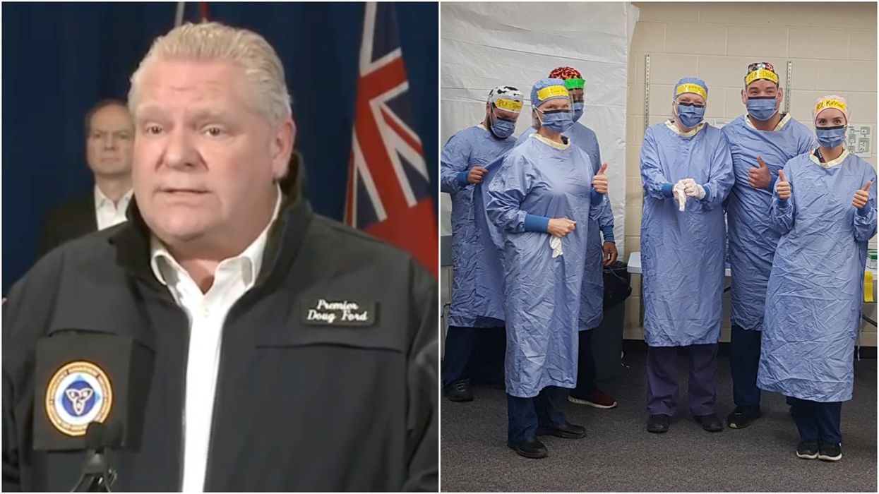 Ontario's Frontline Workers Are Getting A Hefty Pay Rise & A $250 Bonus