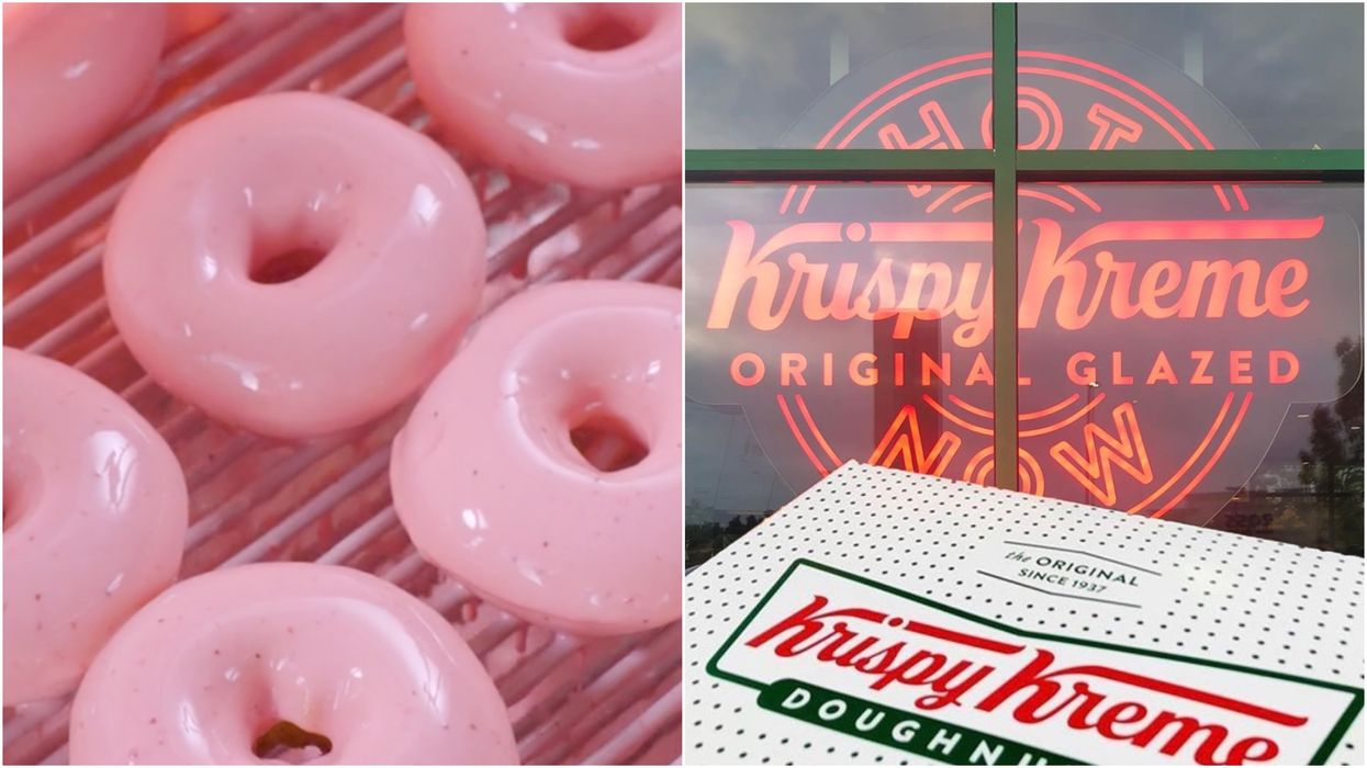 New Krispy Kreme Donuts Are Landing In Canada & They've Got Serious Summer Vibes