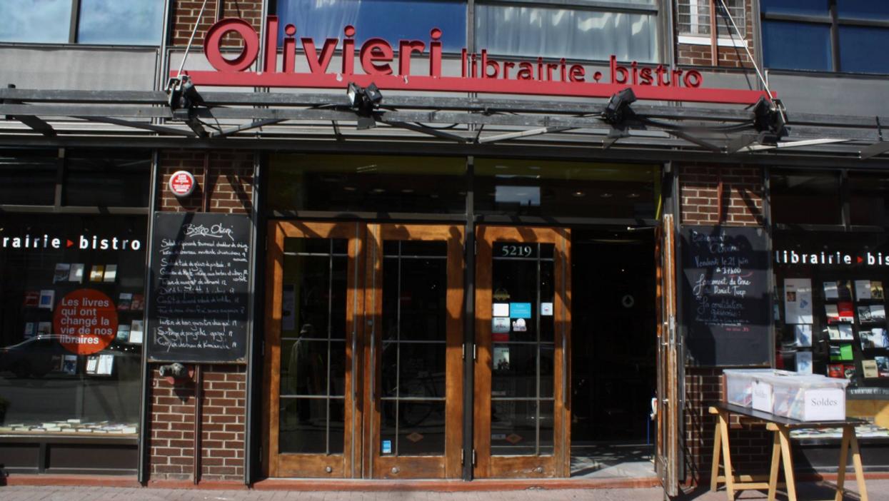 La librairie Olivieri à Montréal ferme ses portes et ça fait réagir les étudiants