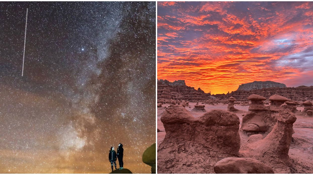 Goblin Valley State Park In Utah Looks Like A Martian Landscape
