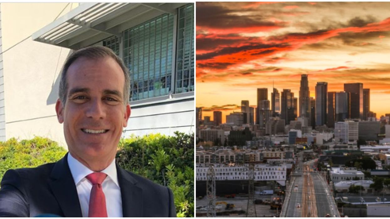 Reopening Los Angeles Will Happen In Just A Few Weeks Said Mayor Garcetti