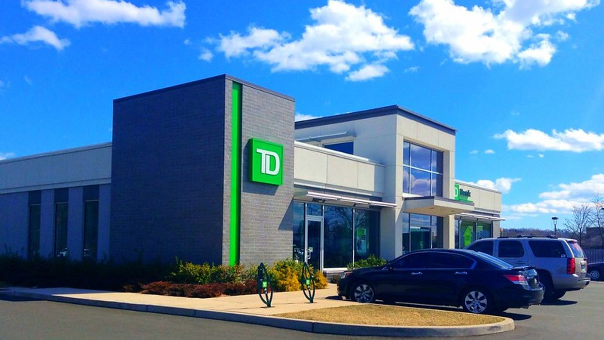 A TD Bank Branch Allegedly Stopped A Customer Entering Because They're A Health Worker