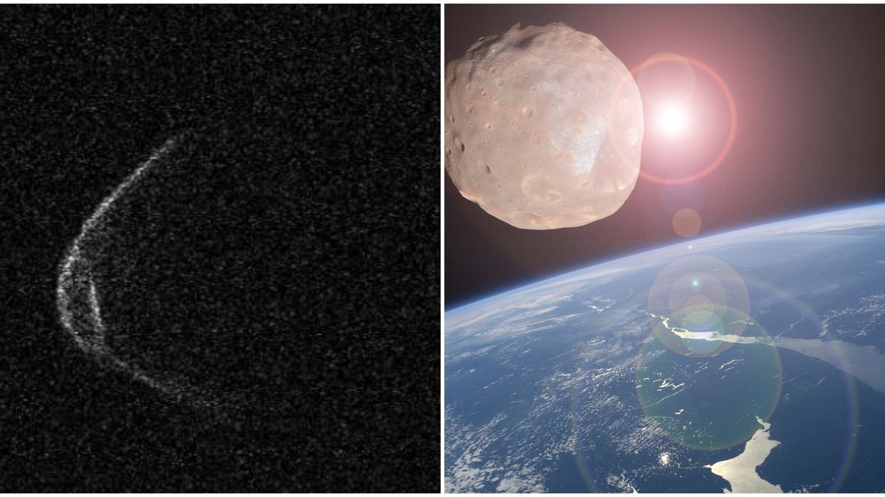 A Mile-Wide Asteroid Wearing A 'Face Mask' Will Soar Over Western Skies Tomorrow (PHOTOS)