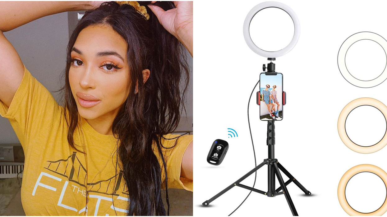 You Can Get This Best-Selling Selfie Ring Light On Amazon Canada Right Now