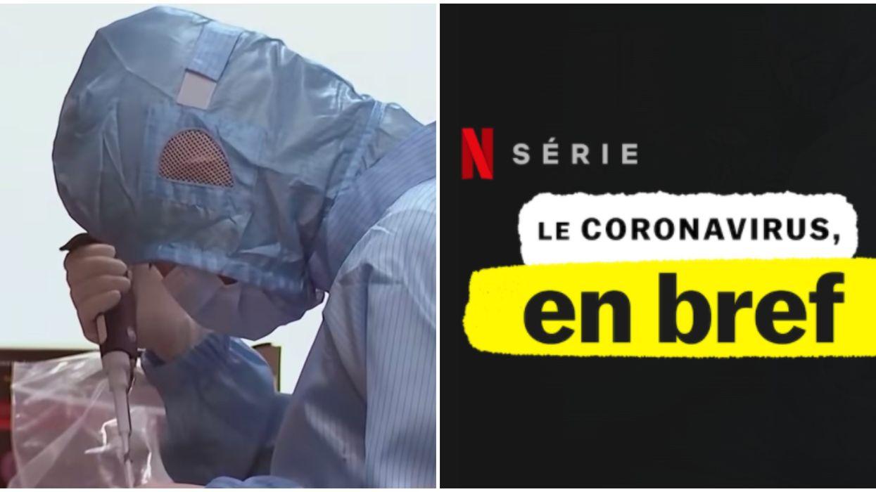 Le documentaire Coronavirus, Explained est sur Netflix et voici mon opinion