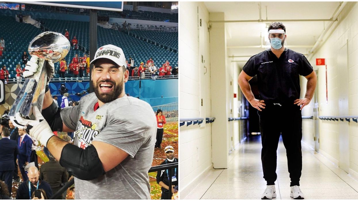 Laurent Duvernay-Tardif Returns To Canada After Winning The Super Bowl To Fight COVID-19