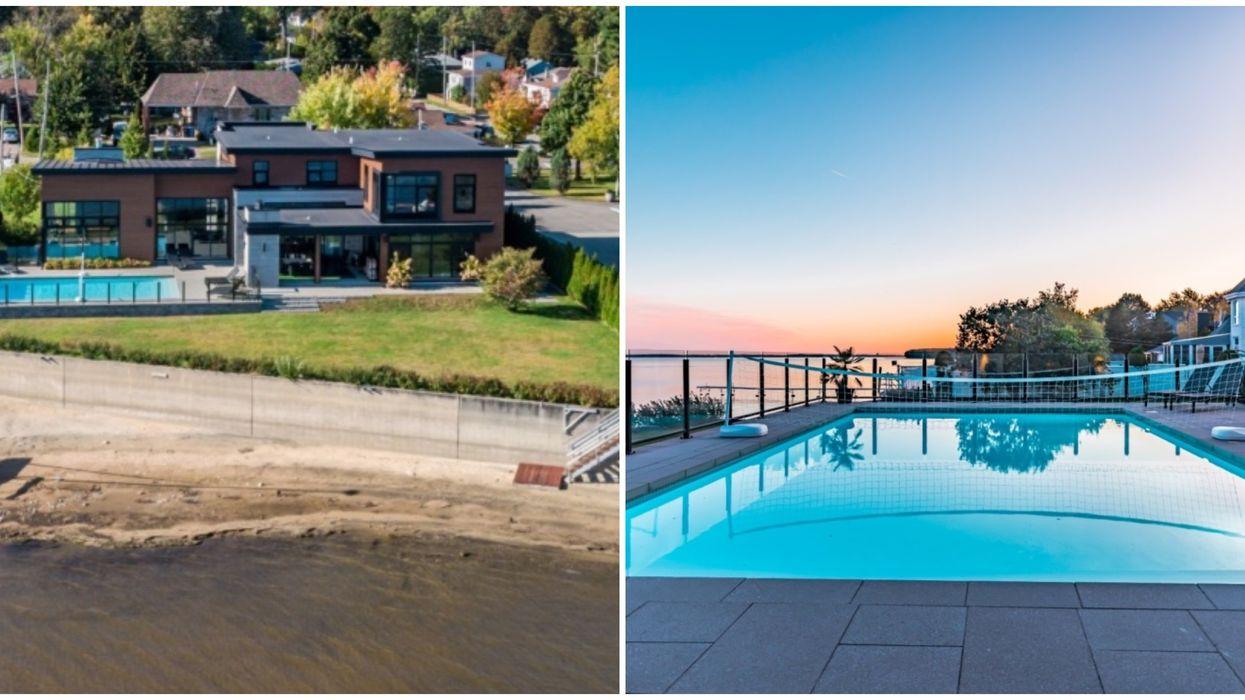 Maison à vendre avec plage privée à Pointe-Calumet