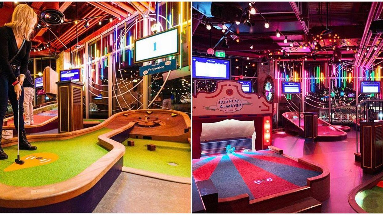 Puttshack Putt Putt Bar In Miami Will Be A Boozy Neon Mini Golf Hot Spot In 2021