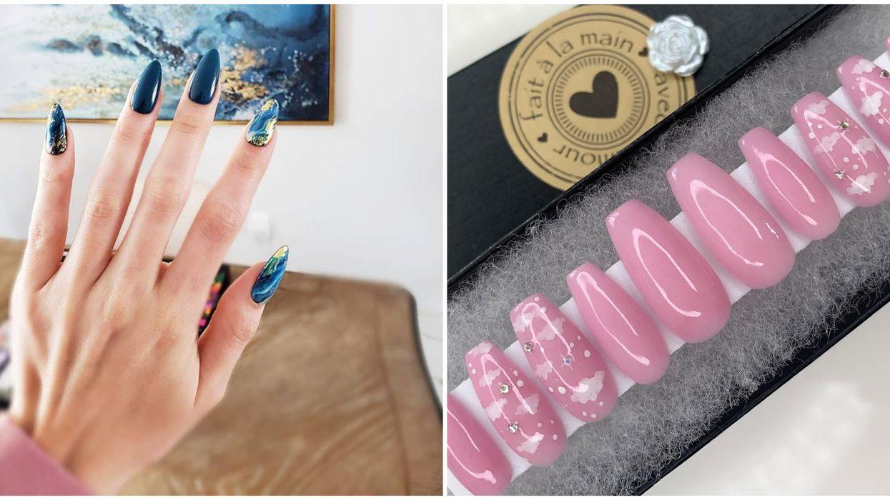 6 compagnies québécoises où commander des ongles prêts-à-porter