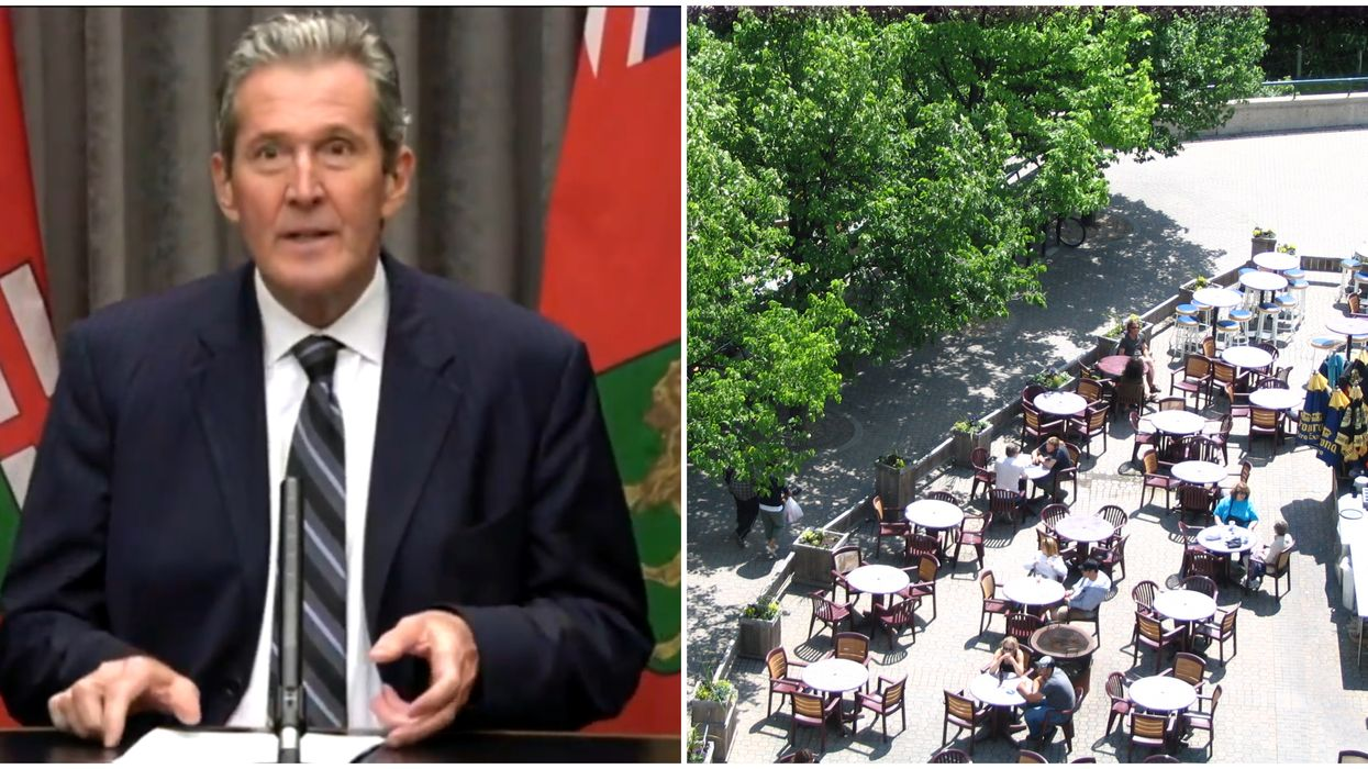 Manitoba Reopening Starts On May 4 With Patios & Hair Salons Included