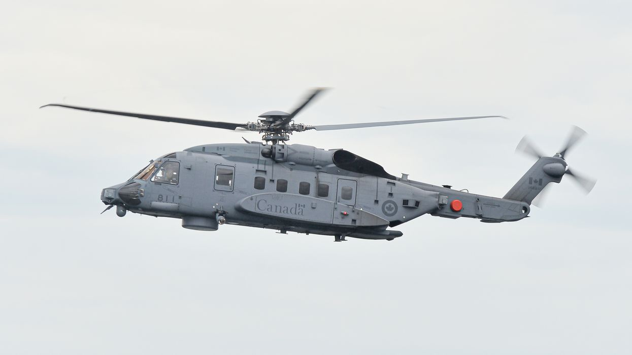 Canadian Military Helicopter Crash Near Greece Claims At Least One Victim