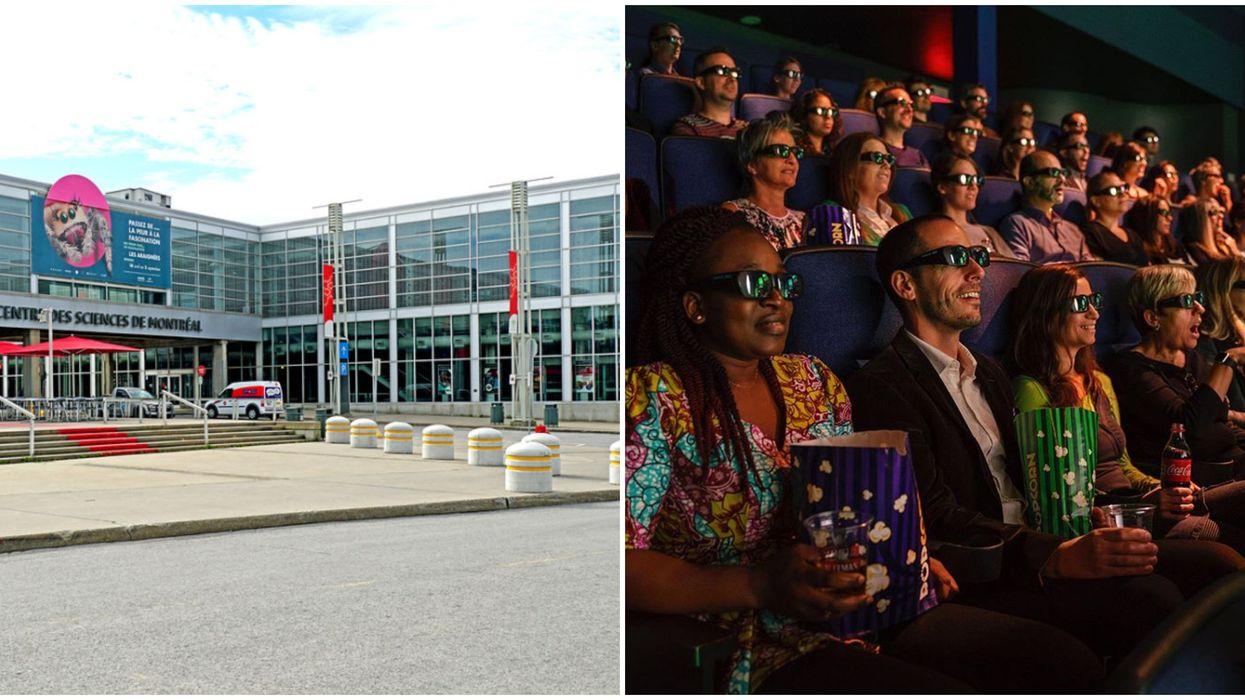 Des fims IMAX du Centre des sciences de Montréal offerts en ligne et gratuitement