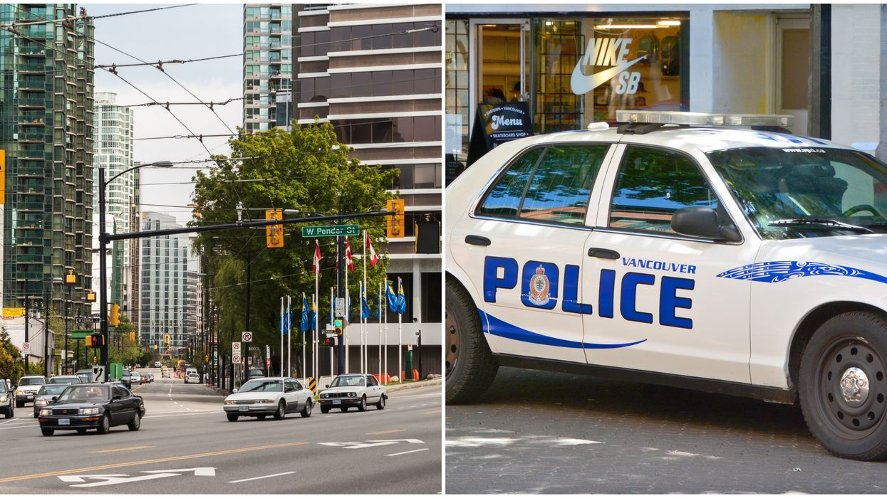 Vancouver Police Arrest A Man After He Asked Two Undercover Cops To Help Him Steal A Car