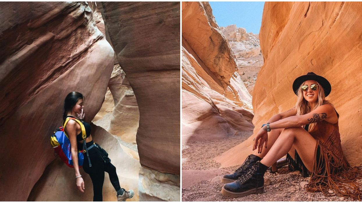 Little Wild Horse Canyon In Utah Is Filled With Narrow Passages That You Can Explore