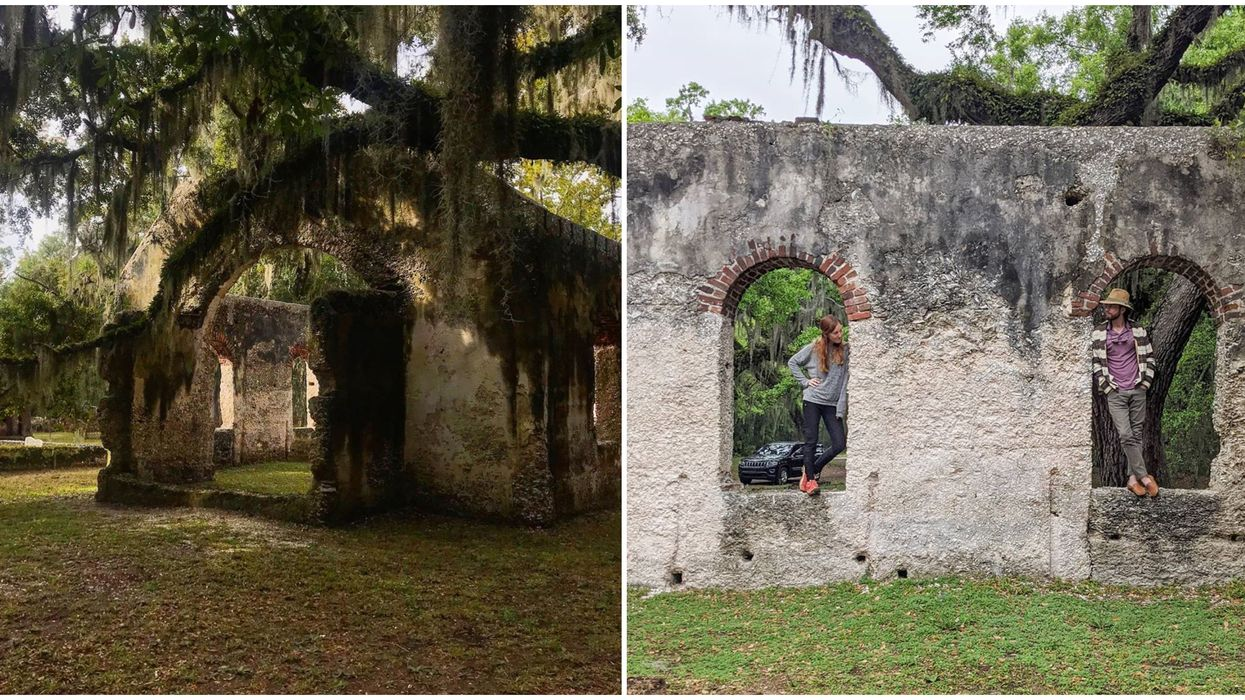 Free Things To Do In South Carolina Include Exploring Old Church Ruins Of St. Helena