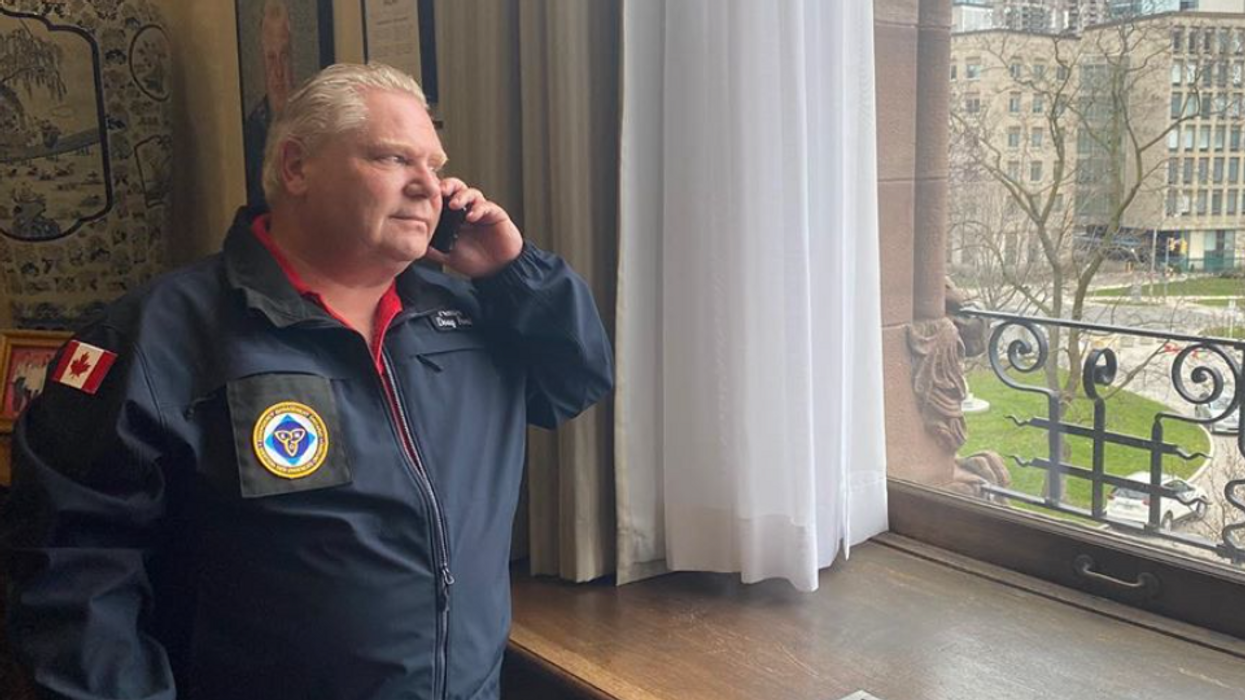 The End Of Lockdown In Ontario Could Be 'A Lot Sooner Than We Thought' Says Doug Ford
