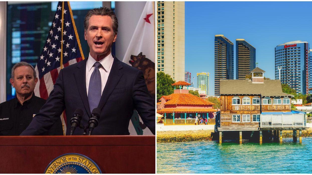 Governor Gavin Newsom Reopening California Will Begin In A Few Days