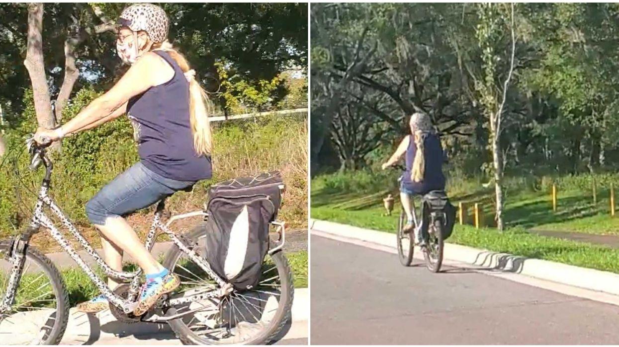 carole baskin bike ride tampa
