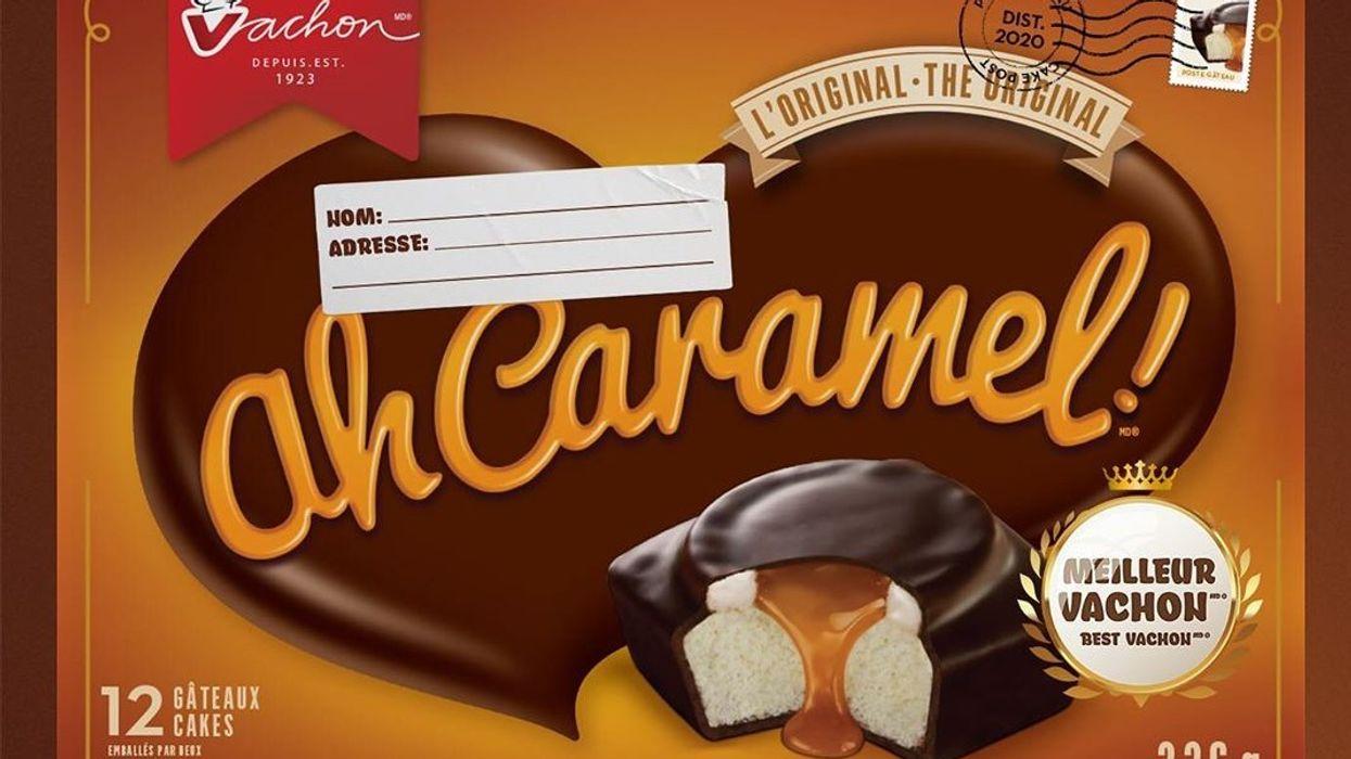 Vachon offre des boîte d'Ah Caramel gratuitement