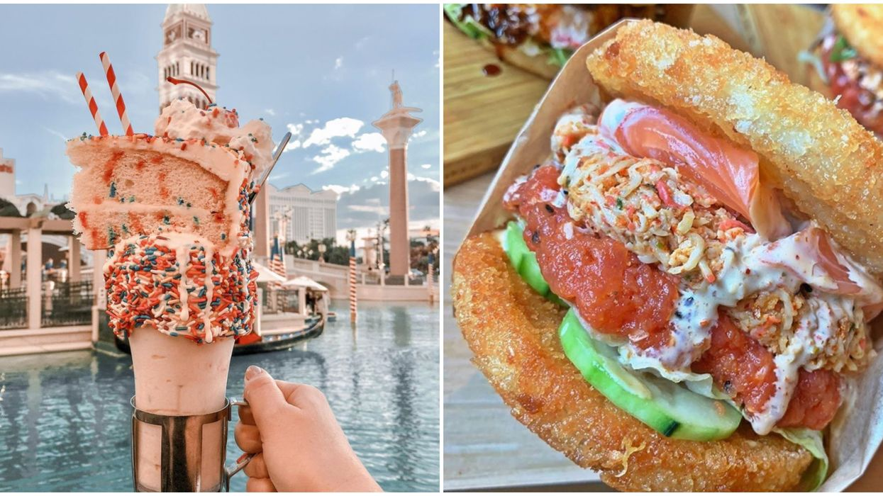 8 Outrageous Foods In Las Vegas That You Need To Try Once In Your Life